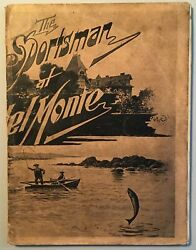Charles W Hibbard / The Sportsman At Del Monte Illustrated 1897