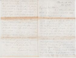 Lucretia Garfield / Addressing The Loss Of Her Husband In An Autograph Letter
