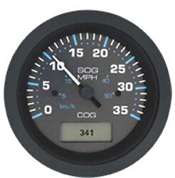 Eclipse Black Domed 35 Mph Gps Speedometer