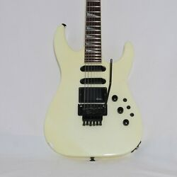 Charvel Model 6 1989 Pearl White All Original Working Mid Boost