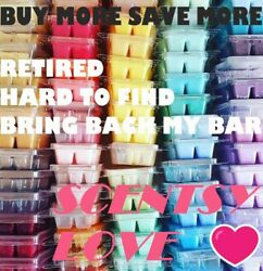 Scentsy Wax Bars Scents A-k Retired Bbmb Htf Up To 15 Off Free Shipping