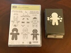 Stampin Up Cookie Cutter Christmas + Punch Used