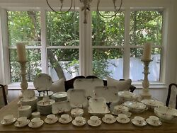 Chas. Emerson And Sons Haviland And Co France Lot Of 90 Piece China Set Gvc