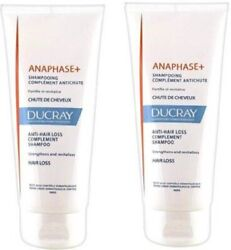 Ducray Anaphase+ Anti-hair Loss Complement Shampoo 100 Ml - Pack Of 2 200 Ml
