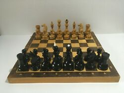 Vintage Chess Of The Ussr With Weights