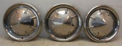 1950s - 1960s Mopar Plymouth Belvedere Fury 14 Dog Dish Wheel Cover Hubcaps