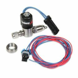 Holley 557-106 Solenoid Water/methanol Injection Stainless Steel Black New