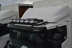 To Fit 06+ Volvo Fl Truck Steel Roofbar A + Spot + Led + Beacon + Airhorn -black