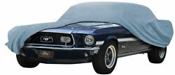 Oer Diamond Blue Indoor Car Cover 1971-1973 Ford Mustang Fastback Models