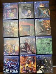 Playstation Vita Play Exclusive Game Lot