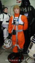 Star Wars Prop X-wing Pilot - Complete Suit Soft + Chest Box And Helmet