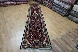 Fine Handmade Persian Runner With A Very Pleasing Floral Design 430 X 80 Cm