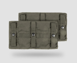 Crye Precision Jpc Long Side Armor Plate Pouch Set - Size 2- Ranger Green