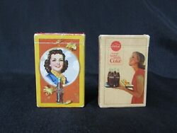 1940's Coca-cola And 1963 Coca-cola Things Go Better With A Coke Playing Cards