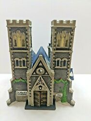 Dept 56 Christmas In The City Village Cathedral Church Of St. Mark Ltd 207