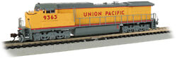 N Scale Bachmann Ge Dash 8-40cw Union Pacific W/ Factory Dcc And Sound Item 37351
