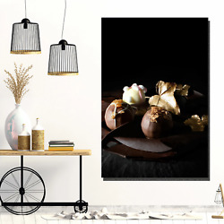 Luxury Truffles Kitchen Dining And Cafe Decor Canvas Art Print