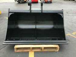 New - 60 Ditch Cleaning Bucket For A John Deere 490e