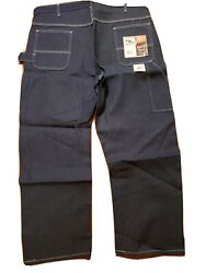 1990and039s Pointer Brand Carpenter Pants. Sz. 48 X 32. Denim. Made In Usa. Deadstock