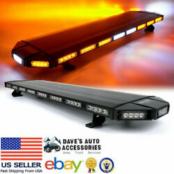 48 Amber/yellow Led Roof-top Emergency Warning Light W/ Controller - Fast Ship