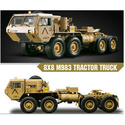 Hg P802 112 88 Chassiis M983 Rc Car Us Army Military Truck Sound Light System