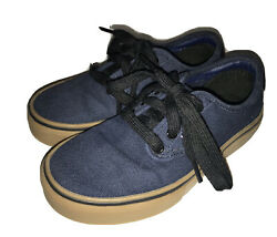 VANS quot;Off the Wallquot; Blue Lace Up Skate Shoes Sneakers Size US 13 Youth