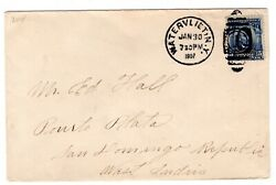 304 Lincoln - Watervliet Ny 1907 To Puerto Plata San Domingo West Indies