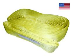 Usa 12 X 34and039 Nylon Web Lifting Sling Crane 4 Ply Tow Strap Ee4-912 Recovery