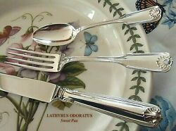 Pristine 20 Pieces Towle Ben Franklin Sterling Silverware Knives Forks Spoons