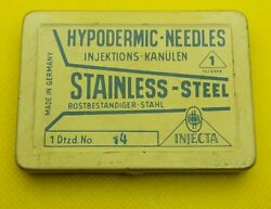 Hypodermic Needles Injektions - Kanulen, Stainless - Steel, Made In Germany Box