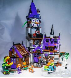 Scooby Doo Mystery Mansion Haunted House Building Bricks Toys For Childrens Gift