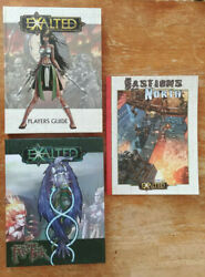 Lot Of 6 Books - White Wolf - Exalted Nm