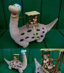 Marx The Flintstones Dino And Fred Toy Doll Character Vintage Rare Cartoon B21
