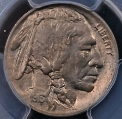 1913 Type 1 Buffalo Nickel Pcgs Ms 64 First Year Of Issue And A One Year Type