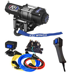 Kfi A3000 Winch And Mount For 2002-2008 Yamaha Grizzly 660 4x4