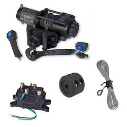 Kfi Se35 Stealth 3500lb Winch With Mount For 2002-2008 Yamaha Grizzly 660 4x4