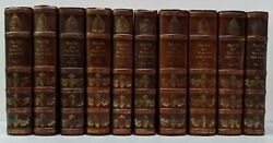 Rare Complete Life And Works Of John Adams 1850-56 10 Volumes 1st Eds G/vg Cond
