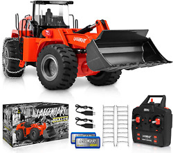 Metal R/c Construction Bulldozer Front Loader Tractor Remote Control Toy For Kid