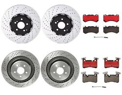 Brembo Front Rear Brake Kit Rotors Ceramic Pads For Mb W212 S212 C218 B06 Or U70