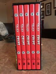 Tales From The Crypt Complete Gemstone Set Ec Comics 5 Book Set With Archive Boo