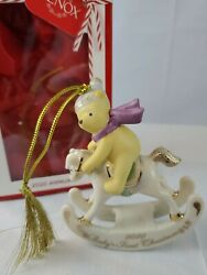 Lenox 2020 Winnie The Pooh Baby's 1st Christmas Ornament -new In Box And Free Ship