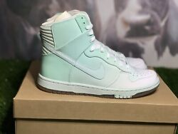 """Nike Dunk """"skinny Super Hi 'ice Green'"""" Patent Leather Edition 2008"""