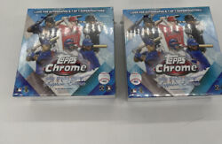 2020 Topps Chrome Update Series Sapphire / Lot Of 2 Boxes / Factory Sealed