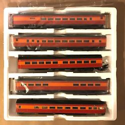 Mth Ho Scale 80-60029-5 5-car Southern Pacific Passenger Car Set Production