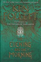 The Evening and the Morning by Ken Follett 2020 HardcoverDJ 1st edition New $21.00