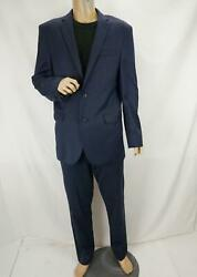 Jos. A. Bank 1905 Collection Slim Fit 2-piece Wool Suit-blue Size 40l /36r Pant