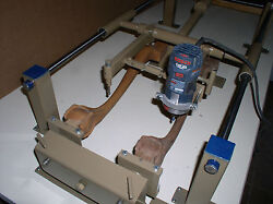 Carving Duplicator- Automatic Turning Model- Large Router Model One-b