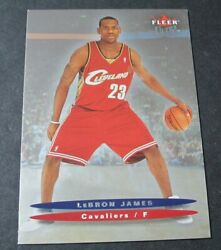 2003-04 Fleer Ultra 171 Lebron James Cleveland Cavaliers Rc Rookie Card Lakers