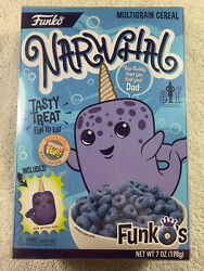 Funko's Elf Narwhal Cereal Box W/ Protector Box Lunch Exclusive Funko Pocket Pop
