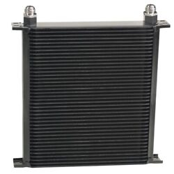 Derale Stack Plate Oil Cooler 4 0 Row 10an